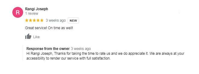 Customer Valuable Reviews