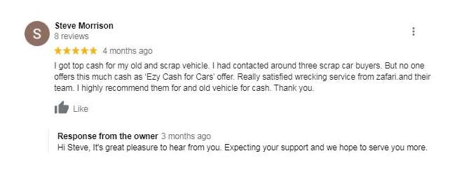 Cash for unwanted cars logan Review