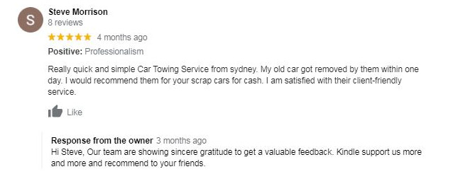 Best customer service review