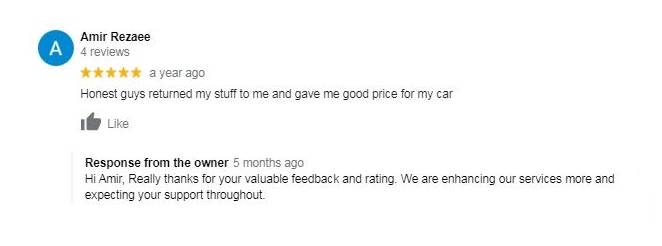 Sydney unwanted cars reviews